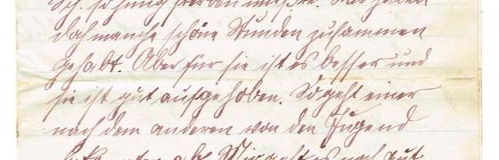 Feldpostbrief von Georg Schmiele vom 22. März 1916 (Seite 1 von 6)